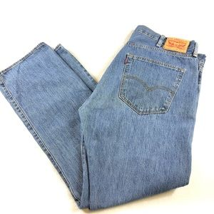 Levi's 501 button fly jeans medium wash Sz 40x32